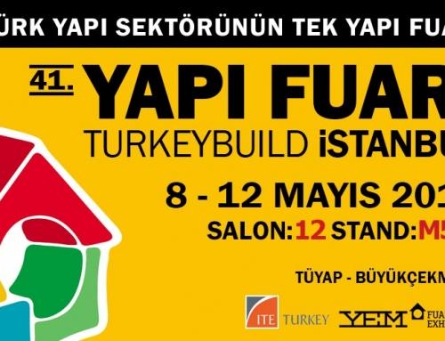 41. Yapı Fuarı İstanbul'a davetlisiniz!